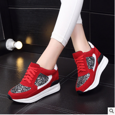 Students increased within 2016 new winter leather shoes sneakers loafers shoes